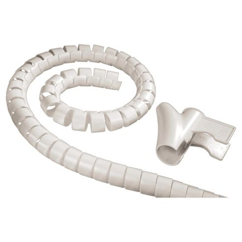 Hama Easy Cover 1.5 m Cable Bundle Tube - White