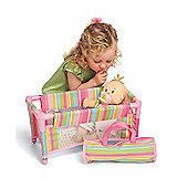 Baby Stella Take Along Travel Cot with Carry Case 12m+
