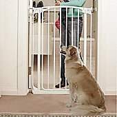 Bindaboo Extra Tall Easy Close Pet Security Gate White