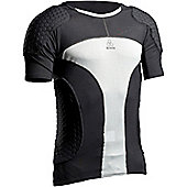 Mcdavid Hexpad Short Sleeved Shirt - Black
