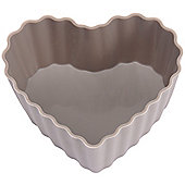 Sabichi Silicone Heart Cupcake Cases in Grey (Set of 6)