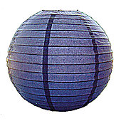 Loxton Lighting Paper Lantern - Blueberry