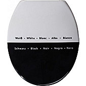 Sanwood Paradoxum Toilet Seat in White