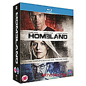 Homeland Season 1-3 (Blu-ray Boxset)