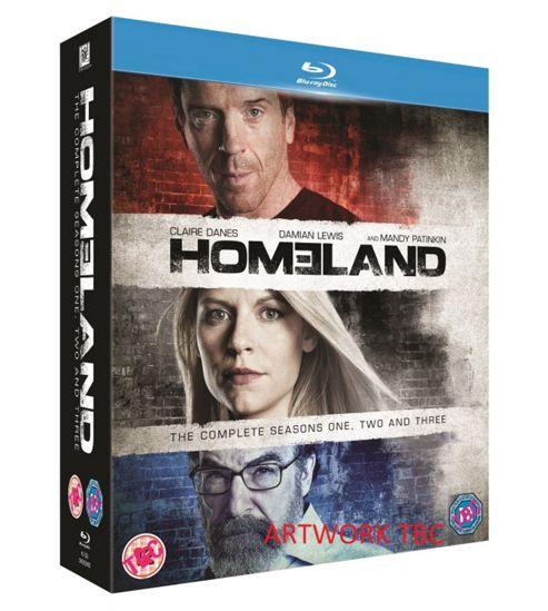 Homeland Season 1-3 Blu-Ray Box Set