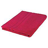 Tesco 100% Combed Cotton Bath Sheet Fuchsia Pink