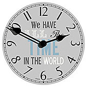 Jones All the Time in the World Clock Dia. 40cm