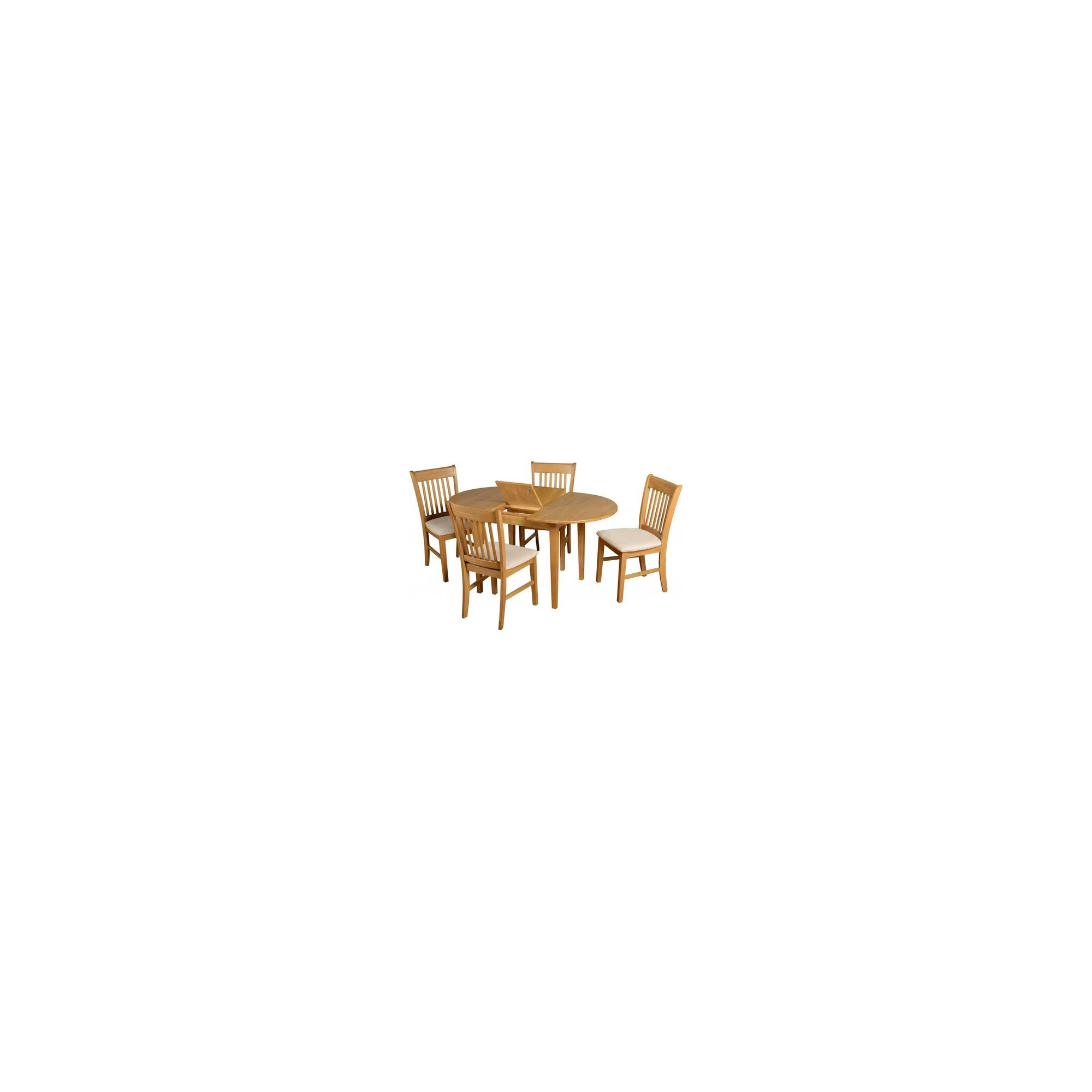 Home Essence Oxford 5 Piece Extending Dining Set at Tesco Direct