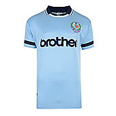 Man City 1994 Centenary Home Shirt - Sky blue
