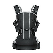 BabyBjorn Baby Carrier One (Black/Silver)