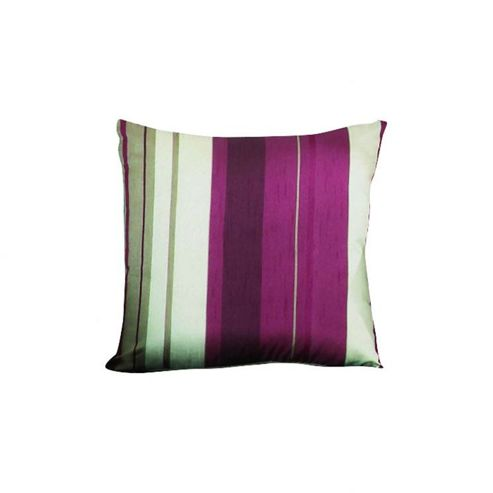 Dreams N Drapes Whitworth Single Cushion Cover in Claret