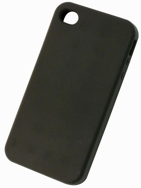 Tortoise™ Soft Silicone Case iPhone 4/4S Black