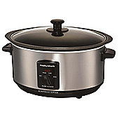 Morphy Richards 48701 Slow Cooker 3.5L Brushed
