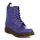 Dr. Martens Cartegena Pascal Womens BlueberryLeather Boots - Blue