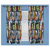 "Marvel Avengers Curtains 72"" Drop"