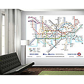 1Wall London Underground Wall Mural