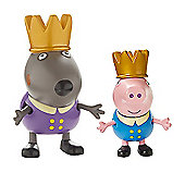 Peppa Pig Twin Figure Pack - Prince George & Prince Danny