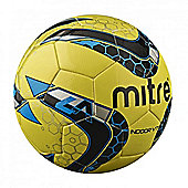 Mitre Indoor V7 Football Soccer Ball - Yellow - 5