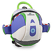 LittleLife Disney Toddler Daysack with Rein - Buzz Lightyear