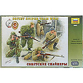 Zvezda - Soviet Sniper Team WWII - 1:35 3597