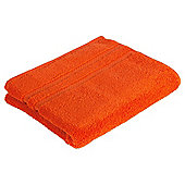 Tesco 100% Combed Cotton Hand Towel Orange