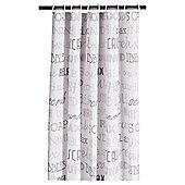 Tesco Shower Curtain Slogan