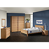 Sleepline Mundo Narrow 3 Drawer Chest - Grey Mat Lacquered