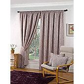 Marlborough Ready Made Lined Curtains - Purple