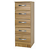 Alto Furniture Visualise Tipolo 5 Drawer Tallboy Chest