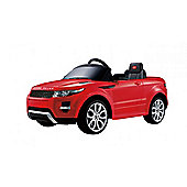 Licensed 12V Evoque Ride On Car Red