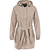 Trespass Ladies Compac Mac Waterproof Packaway Coat - Brown