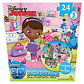 Disney Junior Super 3D 5 Puzzle Pack