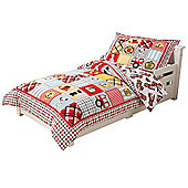 KidKraft Fire Theme Bedding