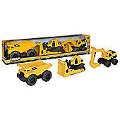 "CAT Tough Tracks 10"" Construction   ( 3 Pack  )"