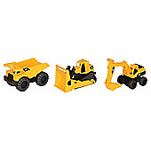Cat Tough Tracks 10In Construction   ( 3 Pack  )