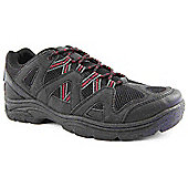 Mountain Peak Mens Olf-m1 Black and Grey Walking Boots