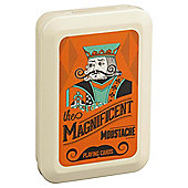 Moustaches playing  cards