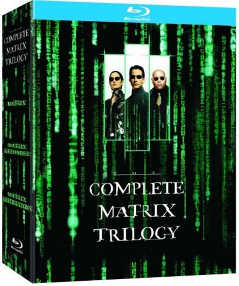 The Matrix/Matrix Reloaded/Matrix Revolutions  (Blu-Ray Boxset)