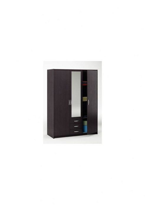 Altruna Omega 3 Doors 3 Drawers Wardrobe