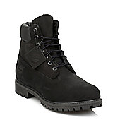 Timberland Mens Black Classic 6 InchLeather Boots - 9