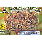 World War II - Russian Infantry - 1:72 Scale - 6057 - Italeri