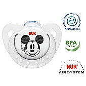 NUK Disney Mickey & Minnie Soothers Size 1 - 2 pack.