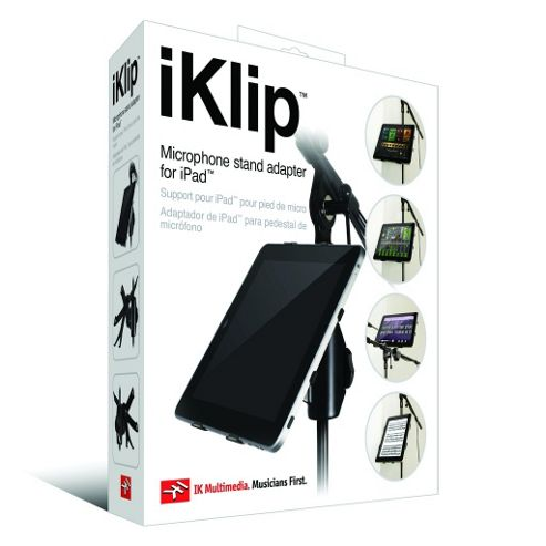 iKlipÖ Universal Microphone Stand Adapter for iPad