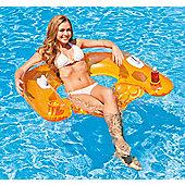 Intex Sit-N-Float Inflatable Pool Raft Chair Lounger