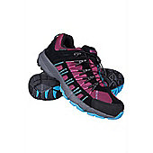 Womens Helveylln Walking Hiking Trail Scree Waterproof Breathable Running Shoes - Pink