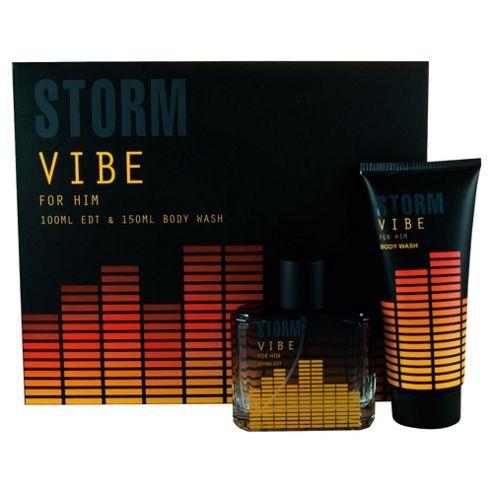 Storm Vibe For Him 100ml Eau de Toilette Gift Set