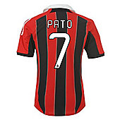 2012-13 AC Milan Home Shirt (Pato 7) - Red