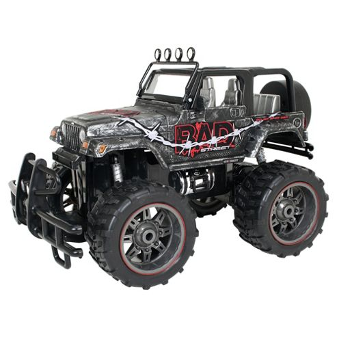 New Bright BAD Street Jeep Wrangler 1:10 Scale RC Toy Car