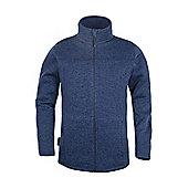 Nevis Full Zip Mens Fleece - Blue