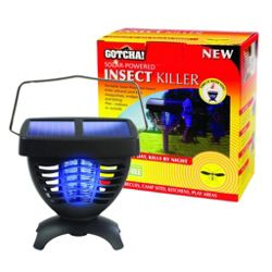 Solar-Powered Insect Killer
